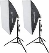 BRESSER SS-16 50x70cm Tageslicht Set 21 (600W)