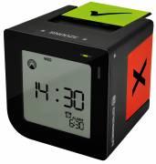 BRESSER FlipMe Radio Controlled Alarm Clock black