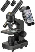 Microscopio NATIONAL GEOGRAPHIC 40x-1280x con supporto per smartphone