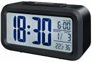 BRESSER MyTime Duo Reloj despertador negro
