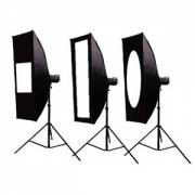 BRESSER SS-36 Mask set for softbox 40x200cm