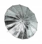 BRESSER SM-09 Jumbo Reflective Umbrella silver/black 162 cm