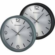 BRESSER MyTime Silver Edition Wall Clock