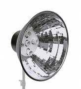 BRESSER MM-06 Lampenhalter mit Reflektor für 5 Spirallampen