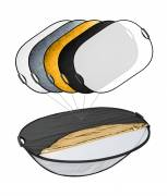 BRESSER TR-24 5in1 Collapsible Reflector with Handles 70x110cm