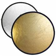 BRESSER BR-TR5 2-in-1 collapsible Reflector gold/silver 60cm round