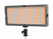 BRESSER LED SL-448-A Lampe de studio Slimline Video 26.9W/1.400LUX Bicolore