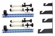 BR-MB10B Sistema de suspensión con cadena para 2 rollos de papel/vinilo