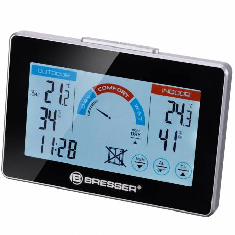 BRESSER RC Thermo- / Hygrometer with ventilation display