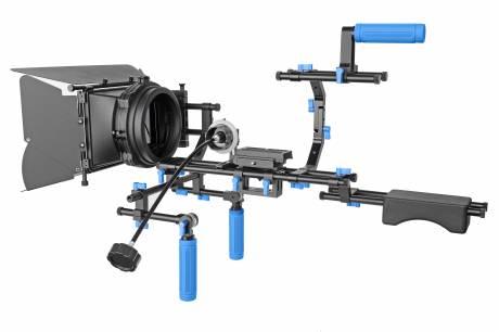 BRESSER MS-8770 Profesional II. Plataforma avanzada para cámara digital DSLR
