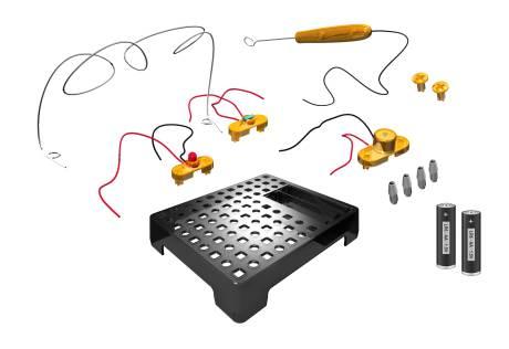 BRESSER Junior Boîte d'Expérimentation Labyrinthe électrique