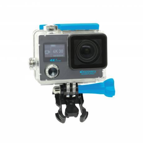 DISCOVERY ADVENTURES 4K Ultra-HD WIFI Action Camera Premium incl. selfie stick