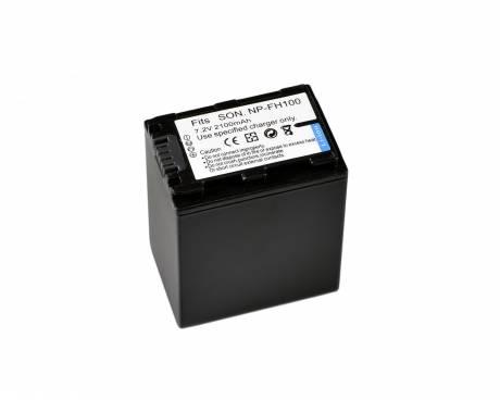 BRESSER Batteria ricaricabile agli ioni di litio / Batteria sostitutiva per Sony NP-FH100