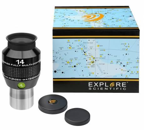 """EXPLORE SCIENTIFIC 82° Ar Eyepiece 14mm (1,25"""")"""