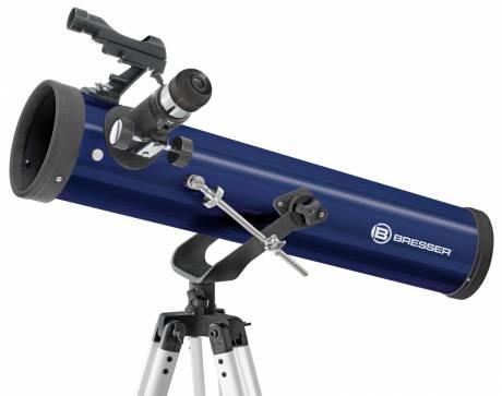 BRESSER JUNIOR Spiegelteleskop 76/700 AZ
