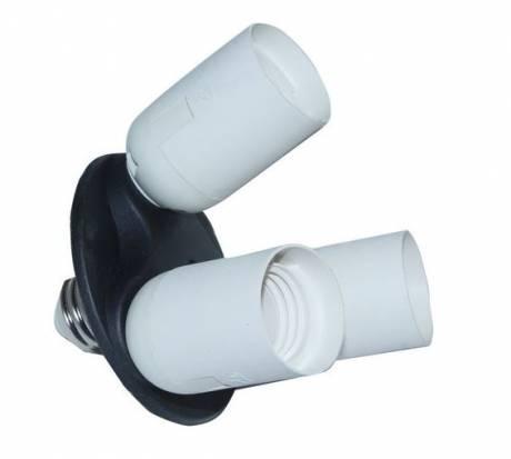 BRESSER BL-LB90 Lampenfassung E27 für 3 Lampen