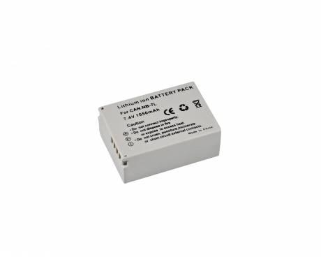 BRESSER Batería de repuesto de iones litio para Canon NB-7L