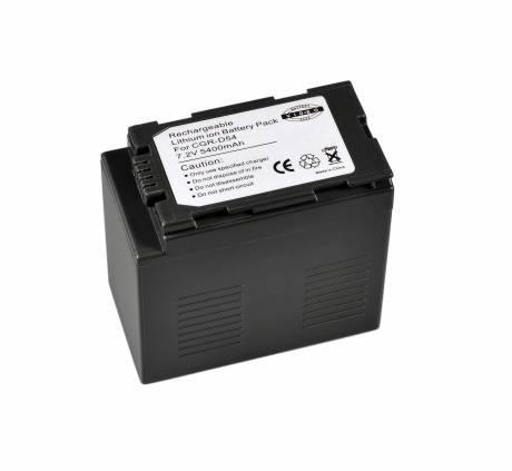 BRESSER Batteria ricaricabile agli ioni di litio / Batteria sostitutiva per Panasonic CGR-D54S