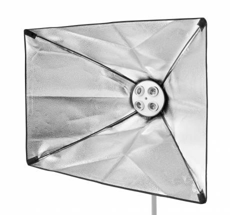 BRESSER SS-19 Softbox 50 x 70cm pour 4 lampes spirales