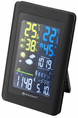 BRESSER Meteo NBF Colour DCF radio controlled Weather Station