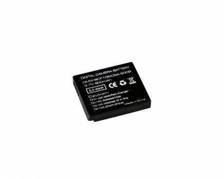 BRESSER Batteria ricaricabile agli ioni di litio / Batteria sostitutiva per Panasonic DMW-BCF10