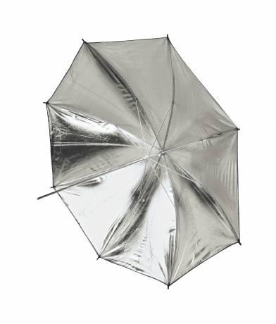 BRESSER SM-04 Parapluie de Studio 101 cm argent/blanc