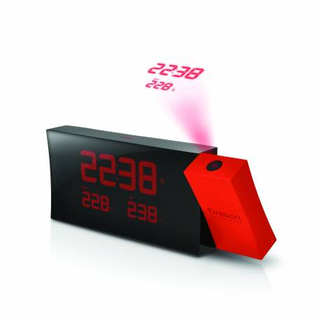 OREGON SCIENTIFIC Prysma Projektionsuhr RMR221P - rot