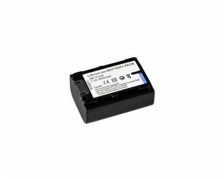 BRESSER Batteria ricaricabile agli ioni di litio / Batteria sostitutiva per Sony NP-FV50
