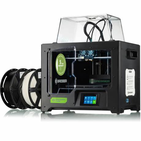 BRESSER T-REX WIFI 3D Printer with Twin Extruder technology