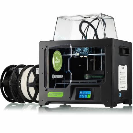 BRESSER T-REX WLAN 3D Drucker mit Twin Extruder
