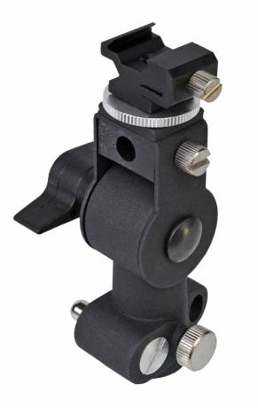 BRESSER B-30 D-Bracket Flashholder with tilt head