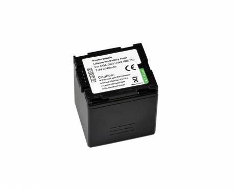 BRESSER Batteria ricaricabile agli ioni di litio / Batteria sostitutiva per Panasonic VW-VBD210/CGA-DU421