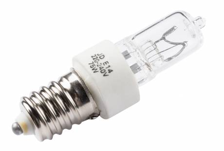 BRESSER JDD-1 Ampoule halogène pour Lampe pilote E14/75W