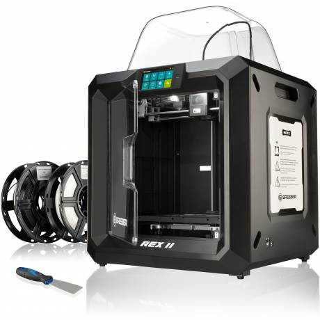 BRESSER REX II Wi-Fi 3D Printer