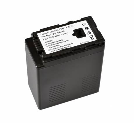 BRESSER Lithium-Ionen Ersatzakku für Panasonic VW-VBG6