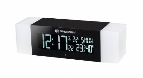 BRESSER FM Radio Wakeup Light with Bluetooth Function