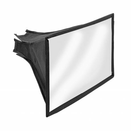 BRESSER SS-24 Softbox para flashes de cámara 22x16cm