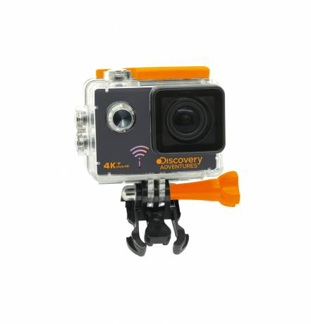 DISCOVERY ADVENTURES 4K Ultra-HD WIFI Action Camera PRO