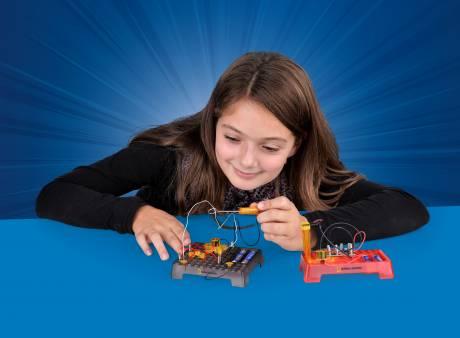 NATIONAL GEOGRAPHIC Caja de Experimentos Sensor de Movimiento electrónico & Laberinto eléctrico