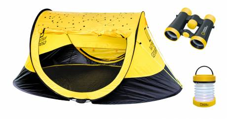 NATIONAL GEOGRAPHIC Kit Outdoor (Tente, jumelles 4x30, Lanterne)