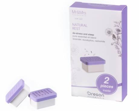 OREGON SCIENTIFIC Natural Rest Duftkapseln für Aroma-Wecker OSRM661