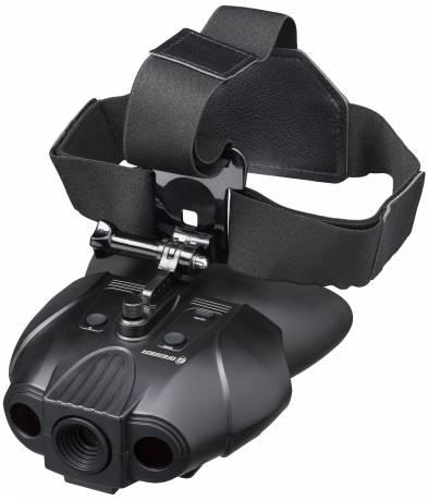 Dispositivo de Visión nocturna binocular BRESSER Digital 1x con Arnés de Cabeza