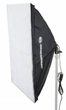 BRESSER SS-16 Softbox 70x100cm + 1x125W Tageslichtlampe