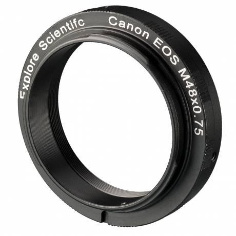 EXPLORE SCIENTIFIC Kamera-Ring M48x0.75 für Canon EOS