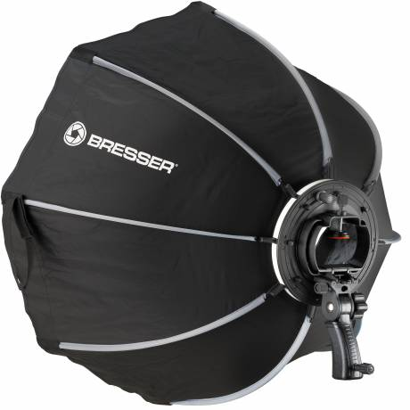 BRESSER Super Quick Octagon softbox 90cm for Speedlite Flash