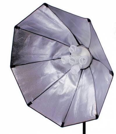 BRESSER SS-18 Caja de Luz octogonal 70cm para 5 Bombillas