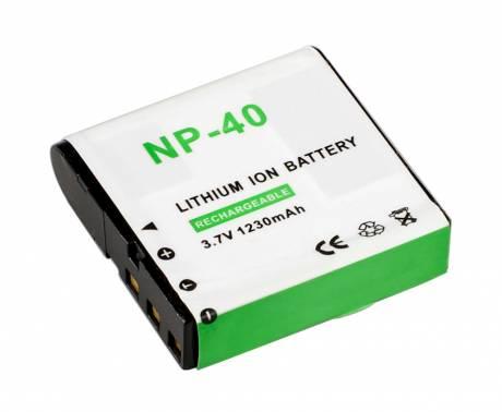 BRESSER Lithium-Ionen Ersatzakku für Casio NP-40