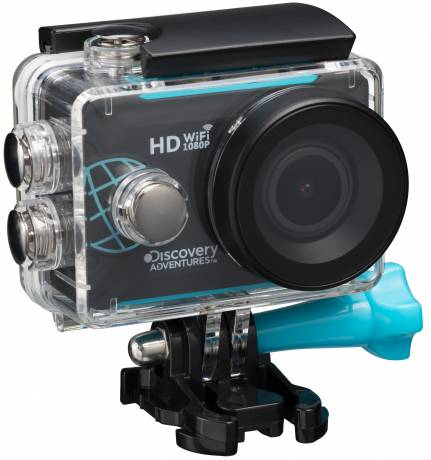 DISCOVERY ADVENTURES Full-HD 1080P WIFI Action Camera Trek