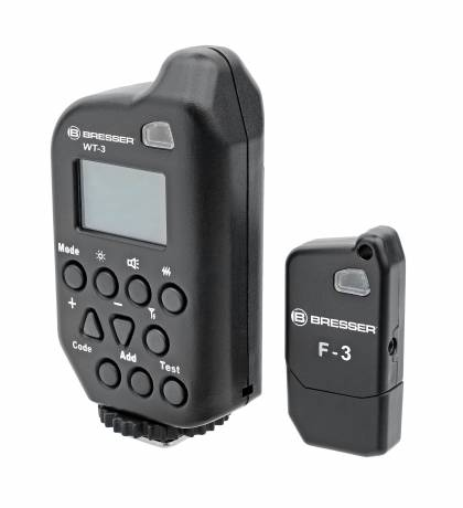 BRESSER WT-3A Set di trigger per flash dello studio GM/CD