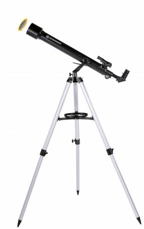 BRESSER Arcturus 60/700 AZ carbon design - Refractor telescope with Smartphone Camera Adapter